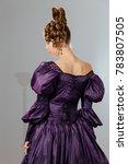 beautiful young woman in... | Shutterstock . vector #783807505