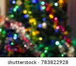 Christmas Tree Bokeh Light...