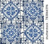 granny square. seamless pattern ...   Shutterstock .eps vector #783866596