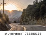 famous mulholland highway at... | Shutterstock . vector #783880198