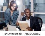 pleasant atmosphere. optimistic ... | Shutterstock . vector #783900082