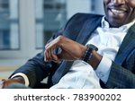 i have enough time. close up of ... | Shutterstock . vector #783900202