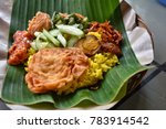 indonesian food  asian food ...   Shutterstock . vector #783914542