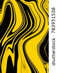 yellow and black digital... | Shutterstock . vector #783951538