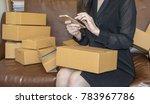 start up small business... | Shutterstock . vector #783967786