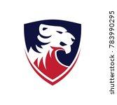 tiger logo design | Shutterstock .eps vector #783990295