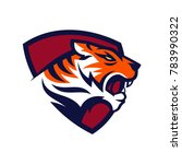 tiger logo design | Shutterstock .eps vector #783990322
