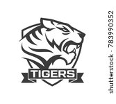 tiger logo design | Shutterstock .eps vector #783990352