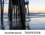 california oceanside pier over... | Shutterstock . vector #783993358