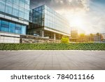 large modern office building | Shutterstock . vector #784011166