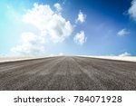 country asphalt road and blue... | Shutterstock . vector #784071928