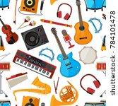 speakers  amplifier ...   Shutterstock . vector #784101478