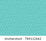 geometric grid with intricate... | Shutterstock .eps vector #784112662