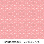 geometric grid with intricate... | Shutterstock .eps vector #784112776