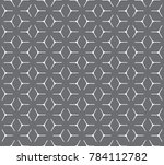 geometric grid with intricate... | Shutterstock .eps vector #784112782