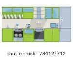 detailed illustration of a... | Shutterstock . vector #784122712