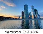 Scyscrapers Of Moscow City