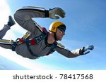 skydiving photo | Shutterstock . vector #78417568