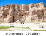 Naqsh E Rostam  Tomb Of Persia...