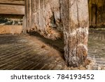 Wet Wood Rot Decay On Timber In ...