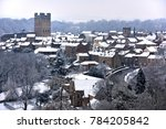 Richmond Yorkshire  In The Snow