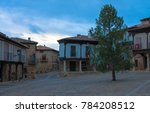 antienza market square with...   Shutterstock . vector #784208512