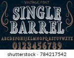 font.alphabet.script.typeface... | Shutterstock .eps vector #784217542
