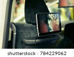 monitor to entertain the small ... | Shutterstock . vector #784229062