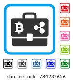 cryptocurrency portfolio icon....