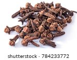 spices closeup. cloves dried on ... | Shutterstock . vector #784233772