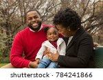 happy african american family | Shutterstock . vector #784241866