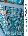 Small photo of Roof Structure ,Glass Roof of airport structure