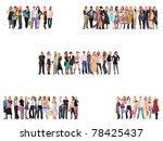 concept business people | Shutterstock . vector #78425437