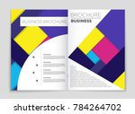 abstract vector layout... | Shutterstock .eps vector #784264702