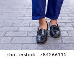 close up of men food wearing... | Shutterstock . vector #784266115