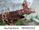 Photo Of An Old Rusted Trailer...