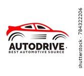 car logo vector illustration... | Shutterstock .eps vector #784322206