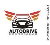car logo vector illustration... | Shutterstock .eps vector #784322215