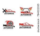 mega collection badges vintage... | Shutterstock .eps vector #784322335