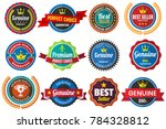 vintage retro vector logo for... | Shutterstock .eps vector #784328812