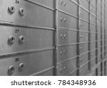 safe deposit boxes for rent in... | Shutterstock . vector #784348936