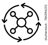 solution finder or creative... | Shutterstock .eps vector #784396252