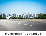 lake with city   Shutterstock . vector #784428535