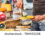 milan  italy   december 2017 ...   Shutterstock . vector #784452238