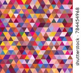 awesome geomeric abstract... | Shutterstock .eps vector #784454968