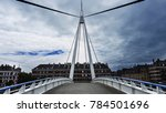 beautiful small walking bridge... | Shutterstock . vector #784501696