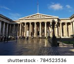 the british museum in holborn ... | Shutterstock . vector #784523536