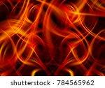 beautiful abstract orange... | Shutterstock . vector #784565962