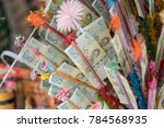 buddhist ritual of thailand in... | Shutterstock . vector #784568935