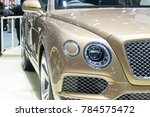 side view mirror in modern car. | Shutterstock . vector #784575472